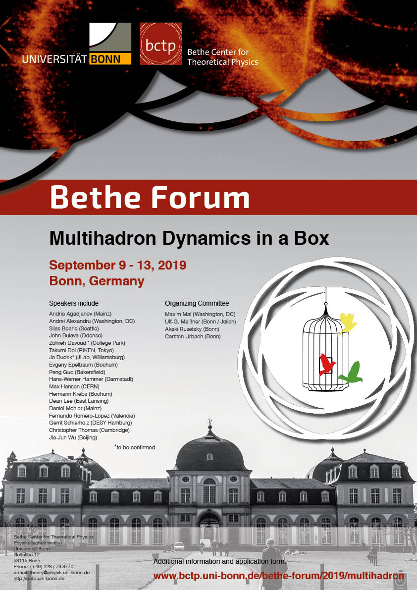 form i-9 september 2019  Bethe Forum Multihadron Dynamics in a Box (11-11 September ...